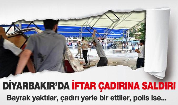Diyarbakır'da iftar çadırına saldırı !