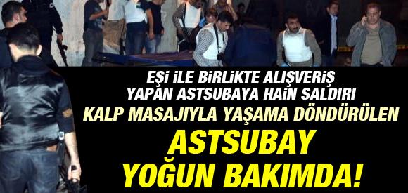 Diyarbakır'da Astsubay Ve Eşine Silahlı Saldırı !