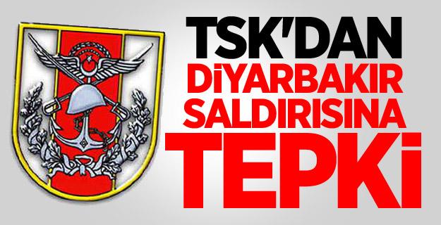 TSK'dan Diyarbakır Saldırısına Tepki !