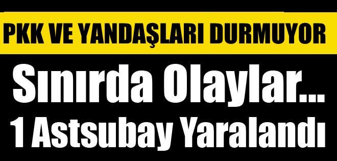 HAKKARİ'DE ASTSUBAY'A SALDIRI !