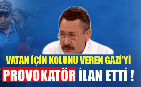 AKP'Lİ GÖKÇEK GAZİ'YE HAKARET EDEN ŞOFÖRE SAHİP ÇIKTI !