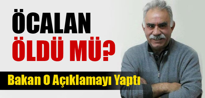 Bekir Bozdağ, Öcalan Öldü...
