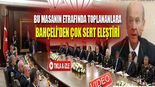 BAHÇELİ'DEN SERT AÇIKLAMA !