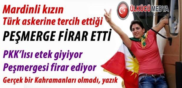 KOBANİYE GİDEN PEŞMERGE FİRAR ETTİ !