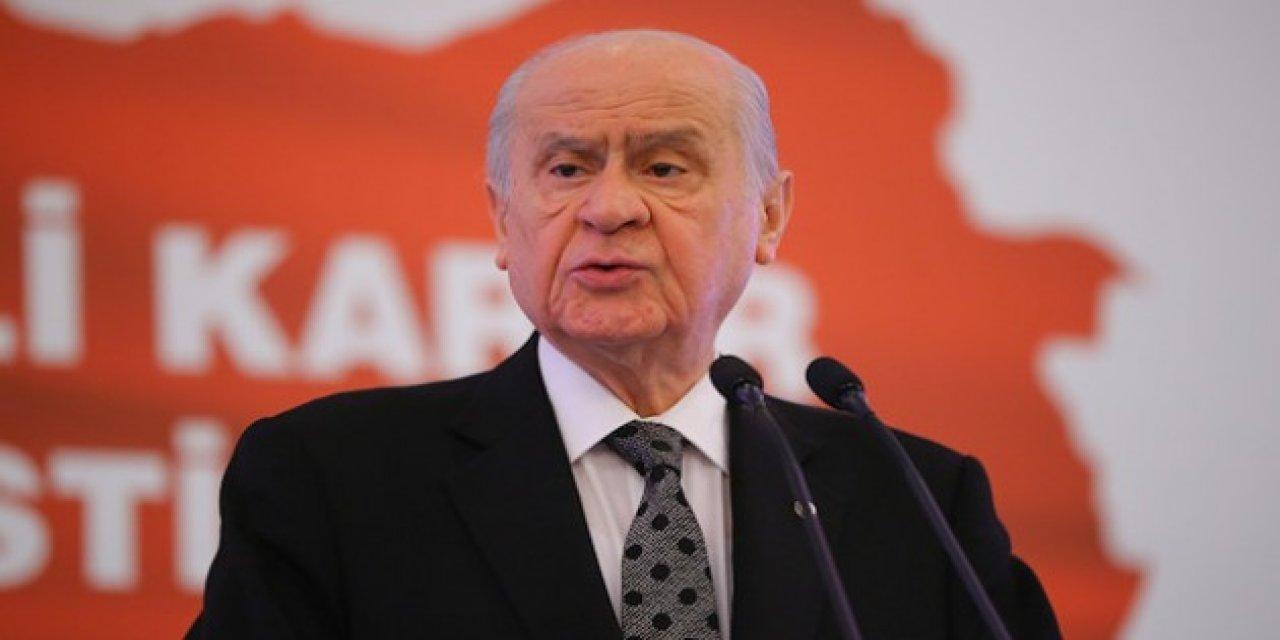 MHP Lideri Devlet Bahçeli: CHP ve HDP Açıklaması