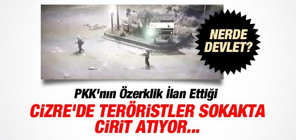 İşte AKP'nin 'süreç'i: PKK'lılar Dağdan Cizre'ye İndi