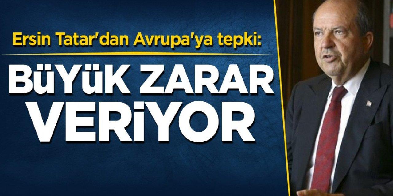 Tatar: AB'nin yanlı tutumu endişe verici