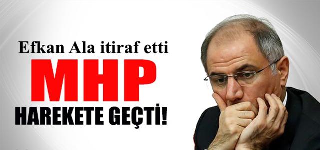Efkan Ala'nın İtirafı MHP'yi Harekete Geçirdi !