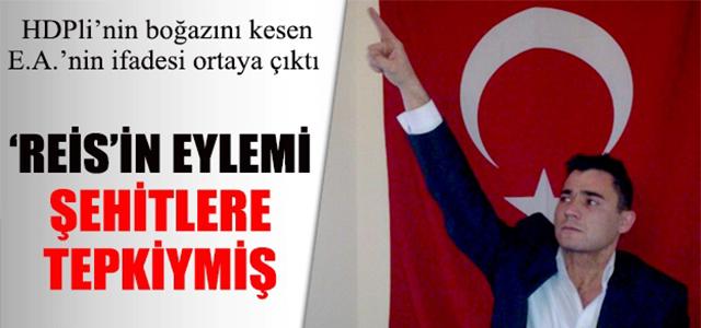 HDP'linin Boğazını Kesen E.A: Şehitler Tepki Oluşturdu !
