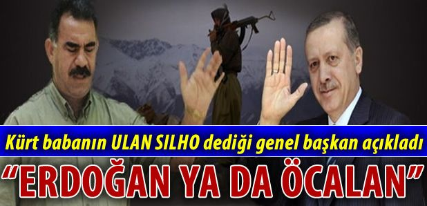 BDP'Lİ DEMİRTAŞ ÖCALAN YADA ERDOĞAN KARAR VERECEK !