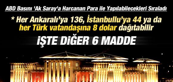 """""""AK SARAY"""" TÜM DÜNYANIN GÜNDEMİNDE"""