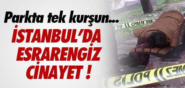 İSTANBUL'DA PARKTA İNFAZ !