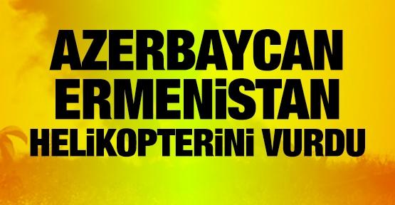 Azerbaycan, Ermeni Askeri Helikopterini Düşürdü !