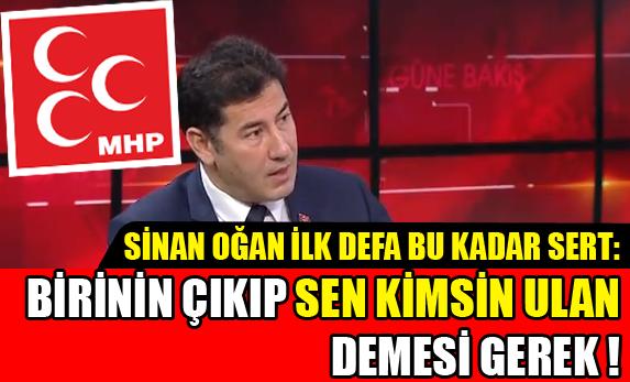 MHP'li Sİnan Oğan'dan AKP-PKK Anlaşmalı 'Süreç'e Çok Sert Tepki !