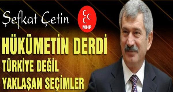 AKP VE CHP'NİN DERSİM İTTİFAKINI MHP BOZACAKTIR !