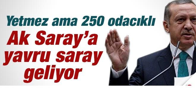 AK Saray'a 250 Odalı Özel Konut Geliyor !