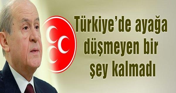 Bahçeli: Hükümeti Sert Dille Eleştirdi !