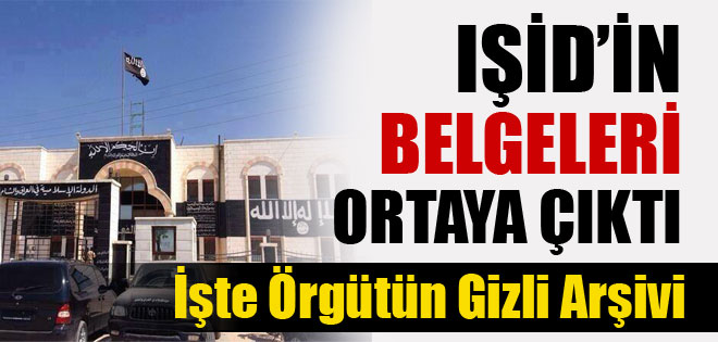 IŞİD'in Gizli Arşivi Ele Geçirildi !