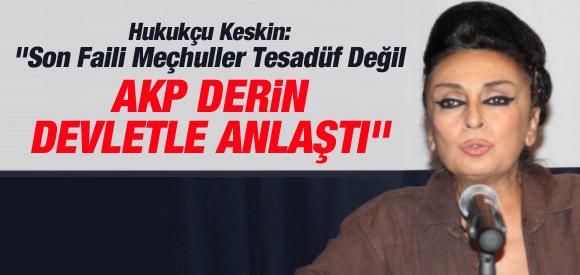 """EREN KESKİN: """"AKP HÜKÜMETİ DERİN DEVLETLE ANLAŞTI"""""""