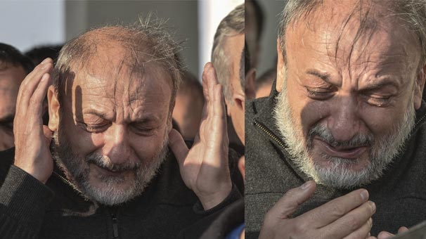 Oktay Vural gözyaşları döktü