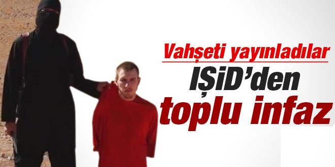 IŞİD'den Toplu İnfaz !