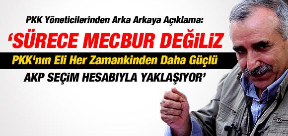 KARAYILAN: PKK'NIN ELİ HER ZAMANKİNDEN DAHA GÜÇLÜ