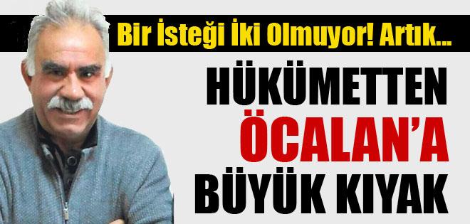 AKP'DEN ÖCALAN'A BÜYÜK KIYAK !