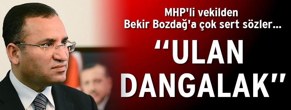 MHP'li Vekil'den Bozdağ'a çok sert tepki!