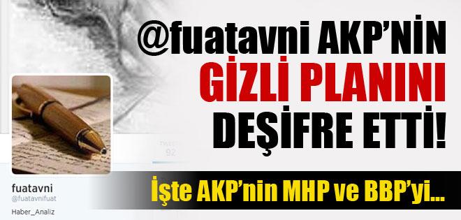 Fuat Avni'den 'AKP, MHP ve BBP'yi dizayn etmeye çalışıyor' iddiası !