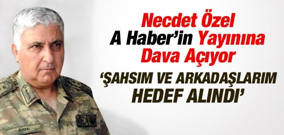 G.KURMAY BAŞKANI NECDET ÖZEL'DEN A HABERE DAVA