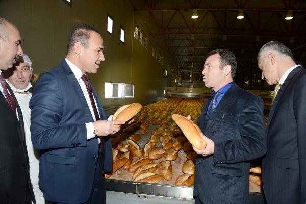 Başkan Sözlü: Hijyenik ve Ucuz Ekmek Üretimine Devam Edeceğiz