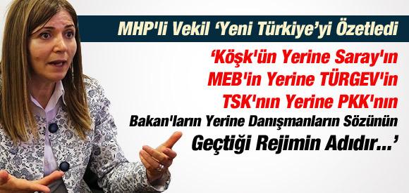MHP'Lİ VEKİL ÇOK SERT KONUŞTU !!