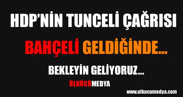 HDP'nin Bahçeli Çağrısı !
