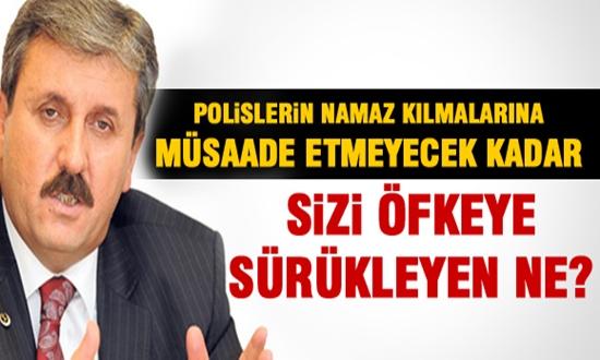 MUSTAFA DESTİCİ'DEN HUKUKSUZ ALIKONAN POLİSLERE DESTEK !