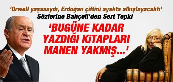 Devlet Bahçeli'den, Alev Alatlı'ya Sert Tepki !