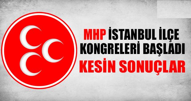 İstanbul MHP İlçe Kongreleri Kesin Sonuçlar !