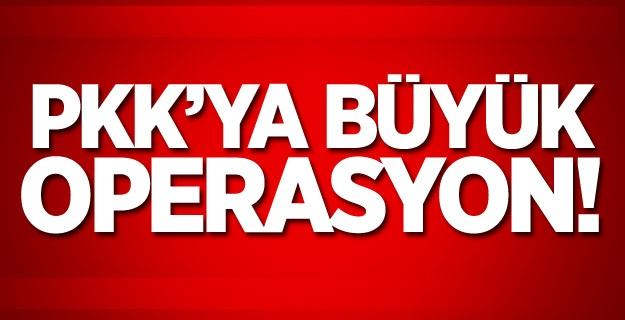 PKK'ya Büyük Operasyon !