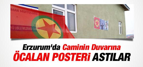 CAMİNİN DUVARINA ÖCALAN POSTERİ ASTILAR !