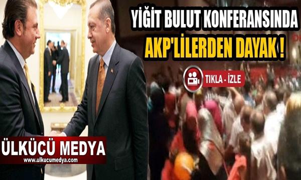 Yiğit Bulut'u protesto ettiler, AKP'liler saldırdı !