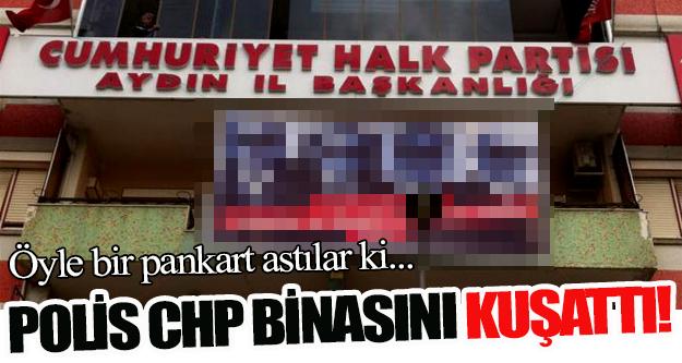 Polis CHP İl Binasını Kuşattı!