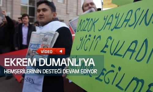 Ekrem Dumanlı'ya Yozgat'lı Hemşerileri Desteklerini Sürdürüyor !