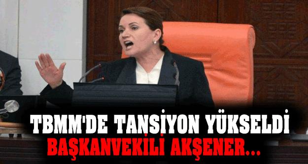 TBMM'de Tansiyon Yükseldi Başkanvekili Meral Akşener !