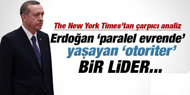 New York Times'tan Bir Çarpıcı Erdoğan Analizi Daha !