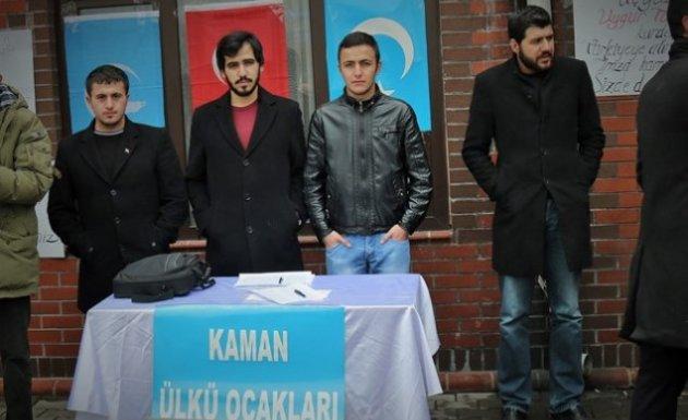 Kaman Ülkü Ocaklarından 300 Uygur Türk'ü İçin İmza Kampanyası !