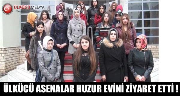 ÜLKÜCÜ ASENALAR HUZUR EVİNİ ZİYARET ETTİ !
