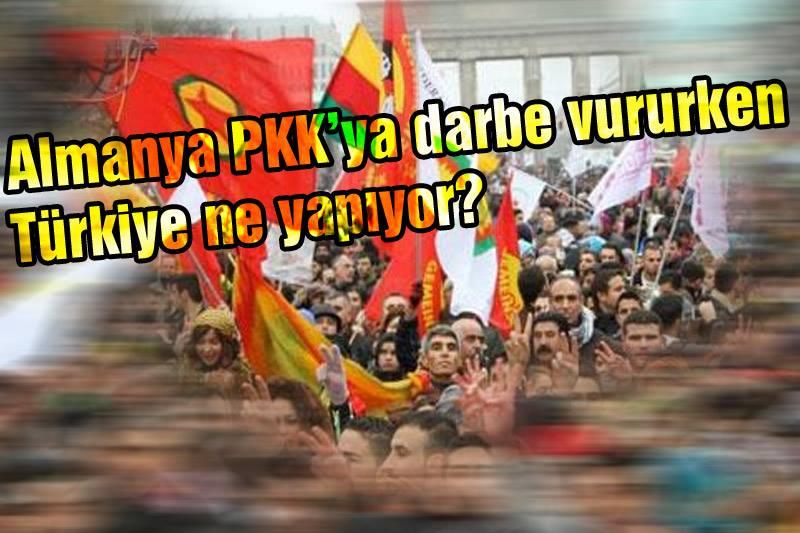 Almanya PKK'ya darbe vururken Türkiye ne yapıyor?