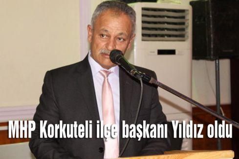 MHP'nin Korkuteli Başkanı Belli Oldu