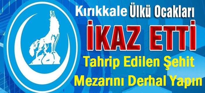 Kırıkkale Ülkü Ocaklarından Belediyeye Tepki