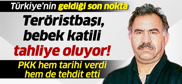 Terör Örğütü PKK, Öcalan'ın Tahliye Tarihini Açıkladı !