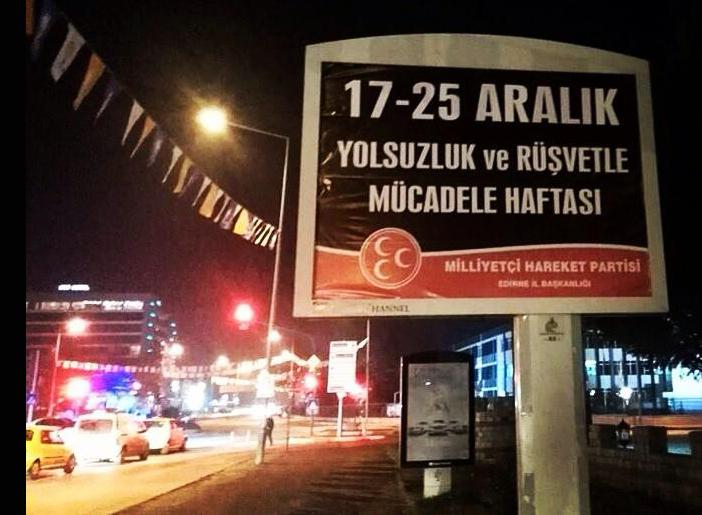 MHP Edirne, Başbakan'a öyle bir şey yaptı ki!